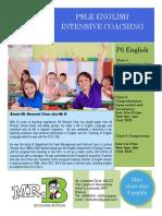 June Intensive P6 Classes 2017