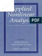 [4] Videman, Juha H. Sequeira, Adelia. Applied Nonlinear Analysis. s.l. s.n., 2001.