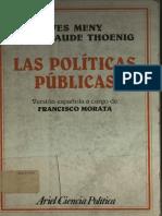 Ives Meny y Jean Claude Thoenig - LAS POLITICAS PUBLICAS.pdf