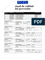Supplier Quality Manual - Version 5_Spanish