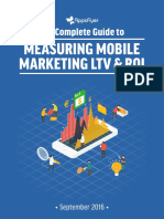 Measuring Mobile Marketing LTV ROI Guide AppsFlyer