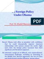 USA Foreign Policy Under Obama and Trump