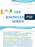 GST Knowledge Series
