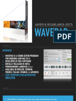 My Report about Wavepad Sound Editor