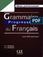 Maïa Grégoire-Grammaire Progressive Du Français-Clé International (2012)