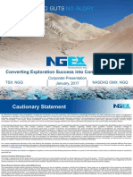 NGEx Resources Corporate Presentation January 2017