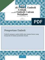 emboli