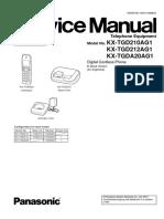 296859841 Service Manual Kx Tgd210ag1