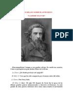Breve relato sobre el anticristo - Vladìmir Soloviev.doc