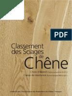 Classement Sciages Chene Fs 2011