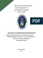 Monografia Desarrollo Del Enfoque Por Competencia de Acuerdo Al Sentido Correcto Para Monografia