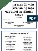 KaMagFil Action Plan