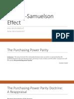 Balassa-Samuelson Effect FINAL 2.0