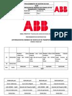 PGSSO007_Ver01 Autorizacion de Ingreso de Vehiculos de Transp y Personal