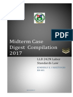 Labor Case digests
