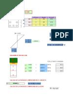 Diagrama de Interaccion Placa Xls