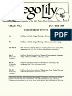 1995 Utah Native Plant Society Annual Compliations