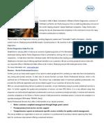 Roche - Trainee Programme Description