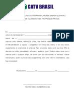 AUTORIZAÇÃO PARA UTILIZAÇÃO COMPARTILHADA DE ENERGIA ELÉTRICA E INSTALAÇÃO DE EQUIPAMENTO EM PROPRIEDADE PRIVADA.doc
