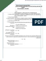 Registros en La Fase de Inversión F-15