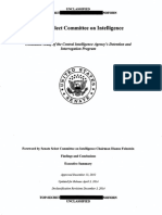 Senate Com. on Intel - CIA Detention and Interrogation Program