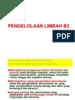 Pengolahan limbah B3 yy