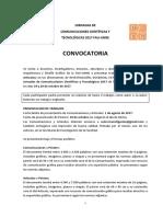 Convocatoria Normas de Presentacion fau 2017