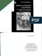 2. Bertoni, Lilia a., Patriotas, Cosmopolitas y Nacionalistas, Caps.