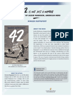 42 Is Not Just a Number by Doreen Rappaport Discussion Guide