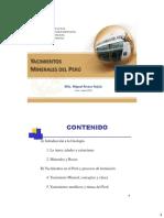 Geologia IIMP Yacimientos minerales del Peru.pdf
