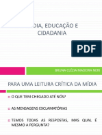 Mídia, Educação e Cidadania
