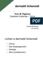 Lichen e Dermatiti Lichenoidi