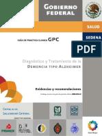 Diagnóstico y Tratamiento de la Demencia Alzheimer