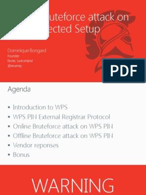 Offline Bruteforce attack Wifi   Secrecy   Cybercrime
