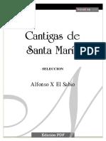 Alfonso X - Cantigas de Santa María.pdf