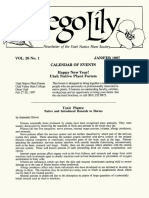 1997 Utah Native Plant Society Annual Compliations