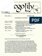 1999 Utah Native Plant Society Annual Compliations