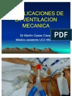 complicaciones de la ventilacion mecanica