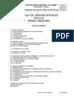 1. Ciencias Sociales Ciclo Vi Grado Once