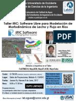 Panfleto IRIC CUNOC 8-9 Junio