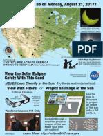 Eclipse Pinhole Postcard