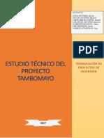 PROYECTO TAMBOMAYO