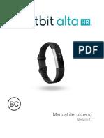 Manual Pulsera Fitbit Alta Hr Español