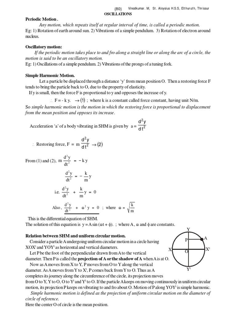 4_Oscillation and waves pdf