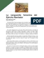 La Vanguardia Femenina Del Ejército Libertador