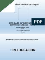 Gerencia de Infraestructura y Desarrollo Urbano Rural - Oficial