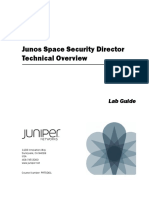 junos Space Security Director Technical Overview