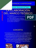 U - 05 La Elaboración Del Marco Teórico5