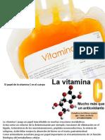 Vitamina C.