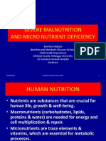 [26] Severe Malnutrition and Micronutrient Deficiency
